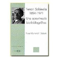 Ferran Soldevila (1894-1971). Una aproximació biobibliogràfica