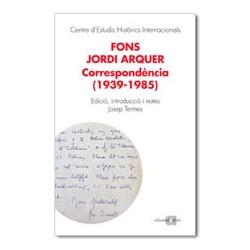 Fons Jordi Arquer. Correspondència (1939-1981)