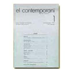 El Contemporani. Arts, Història, Societat / 01
