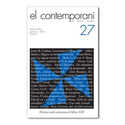 El Contemporani. Arts, Història, Societat / 27
