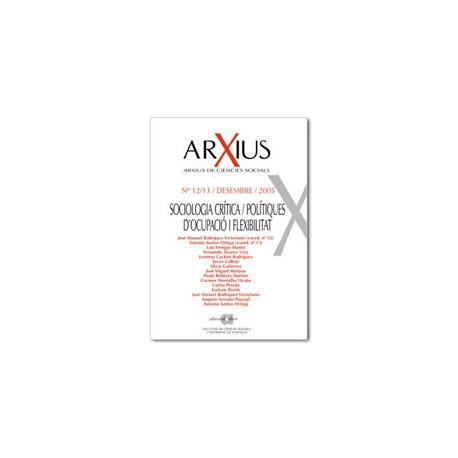 Sociologia crítica / Polítiques d'ocupació i flexibilitat / 12-13
