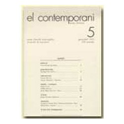 El Contemporani. Arts, Història, Societat / 05