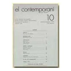 El Contemporani. Arts, Història, Societat / 10