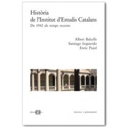 Història de l'Institut d'Estudis Catalans. Vol. II: De 1942 als temps recents