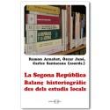 La Segona República. Balanç historiogràfic des dels estudis locals