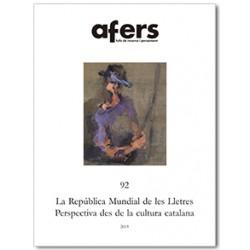 La República Mundial de les Lletres. Perspectives des de la cultura catalana / 92