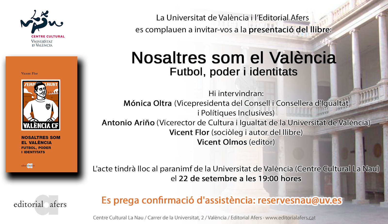 Presentació Universitat V. Flor