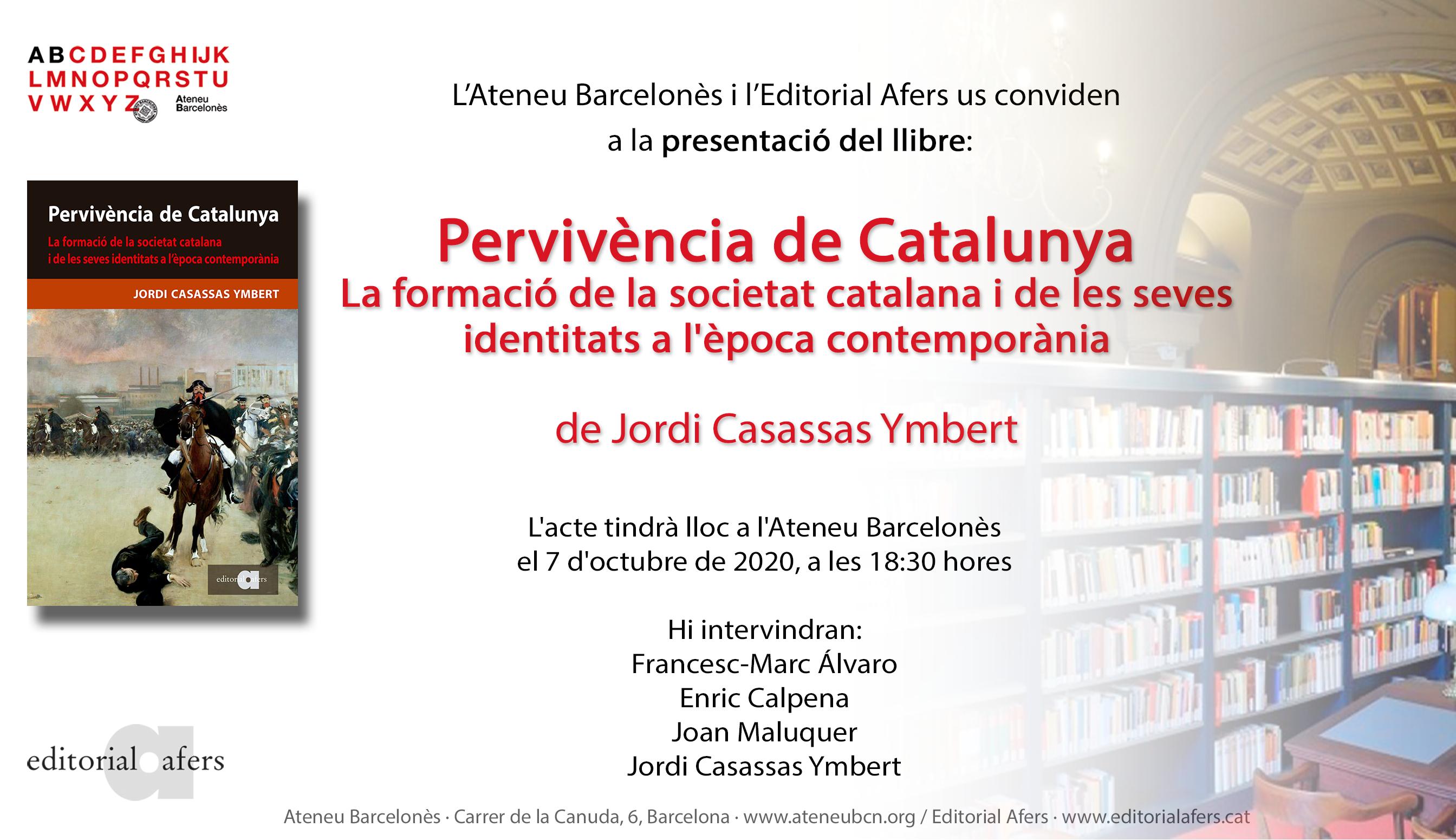 Presentació Ateneu Barcelonès
